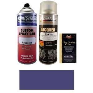 12.5 Oz. Dark Portofino Metallic Spray Can Paint Kit for 1994 Lincoln