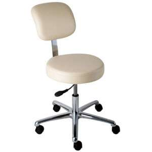 CL22 NEW MEDICAL DENTAL STOOLS WITH BACK 7 VINYL COLORS