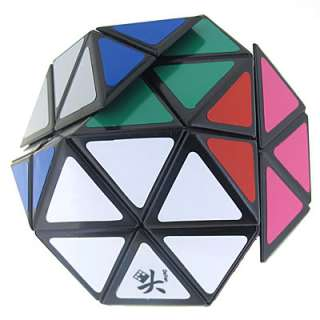 Black 14 Sided DaYan Gem Cube Rubik Cube Twist Puzzle
