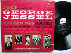 JESSEL 50th Golden Anniversary Concert at Carnegie Hall LP Cabot 1001