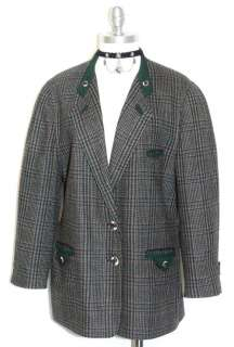 STEINBOCK Austria Designer WOOL Dress JACKET 42 14 L
