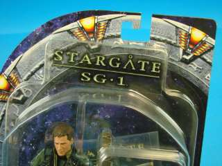 Stargate SG1 7 Figure Lt Cameron Michell Series 3 New