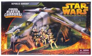 Star Wars ROTS Republic Gunship Sealed