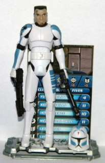 Star Wars CLONE TROOPER FIVES From Defend Kamino