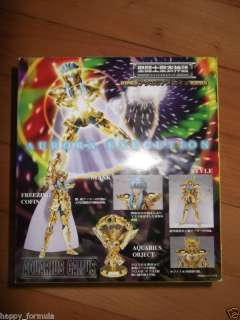 Bandai Saint Seiya Cloth myth Gold Aquarius Camus
