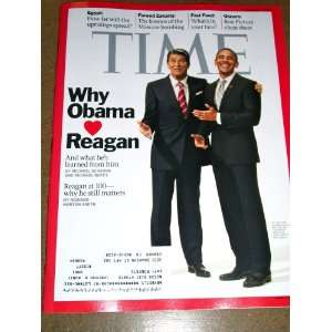 2011 Why Obama Loves Reagan Egypt Oscars Fast Food Time Warner Books