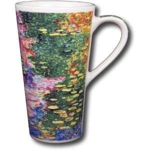 Claude Monet   Water Lilies 12oz Travel Coffee Mug