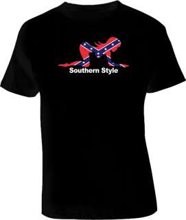 Harold And Kumar Southern Style Black T Shirt