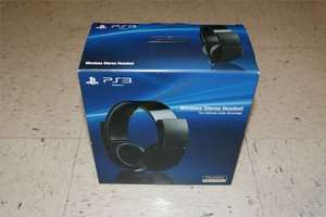 Official SONY Playstation 3 Wireless Stereo Gaming Headset 7.1