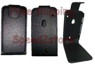 Leather Case Pouch Cover Sony Ericsson Xperia Neo MT15i