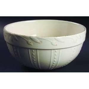 Sorrento Ivory Mixing Bowl, Fine China Dinnerware Home & Kitchen