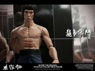 Bruce Lee Enter The Dragon 12 Figure By Hot Toys *New*