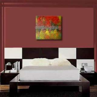 Art Hand Painted Modern Tree Landscape Wall Deco Oil Painting On