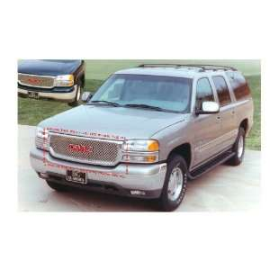 GMC SIERRA 1999 2002 Z STYLE CHROME UPPER GRILLE GRILL Automotive