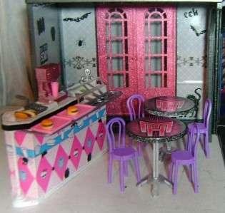 OOAK Custom Re paint Monster High School House ~ TONS of EXTRAS