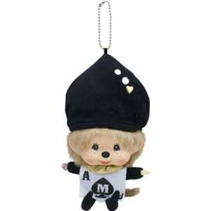 Big Face Monchicchi Plus Doll Key Chain (Spade): Toys