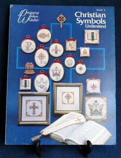 CHRISTIAN SYMBOLS Patterns Cross Stitch Book 3 1982