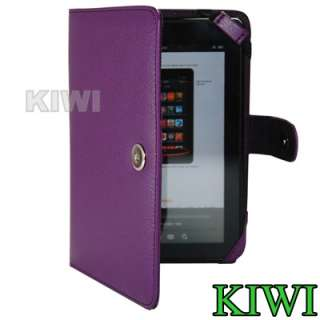 PREMIUM Purple Folio Carry Case Cover for  Kindle Fire Tablet