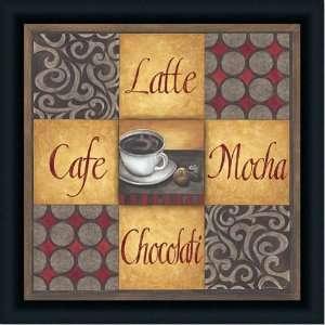 Coffee Drink Latte Mocha Macchiato Ceramic Tile Coaster