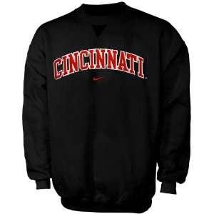 Nike Cincinnati Bearcats Black Youth Classic College Crew Sweatshirt