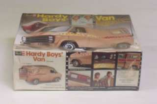 GMC Custom Van Hardy Boys model kit version from the classsic TV show