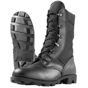 Combat Boots 8 Imported Hot Weather Jungle Combat Boot, Black Size