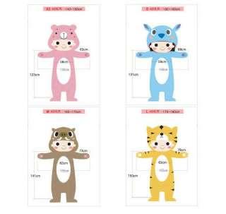 SHINee SAZAC Kigurumi Animal Character Costume Cosplay Pajama Cow NEW