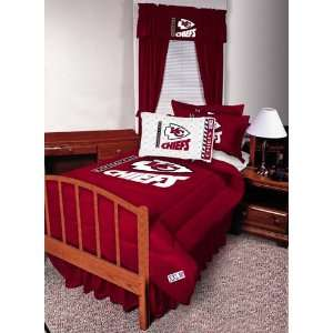 NFL Kansas City Chiefs Complete Bedding Set Twin Size