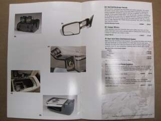 2000 2006 OEM Chevy Tahoe/Suburban Accessories Catalog