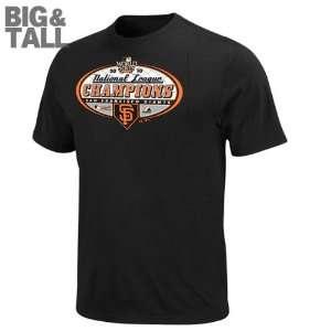 Big & Tall 2010 National League Champions Official Locker Room T Shirt