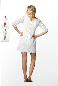 24064ab27235 ... NWT Lilly Pulitzer SHAYNA White Lace DRESS 10 Shift Vintage Floral ...