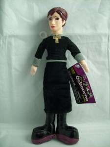 LOOK Sharon Osbourne Doll Action Figure 2002 Black NEAT