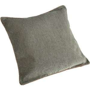 Croscill GALLERIA Brown Green Euro Pillow Sham NEW
