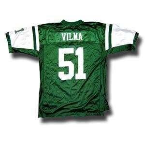 Jonathan Vilma #51 New York Jets NFL Replica Player Jersey By Reebok