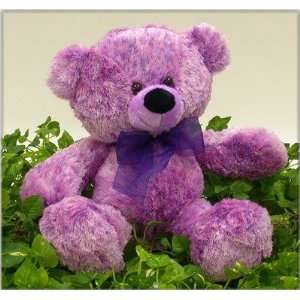 15.5 Cuddle Style Purple Bear Case Pack 24 Toys & Games