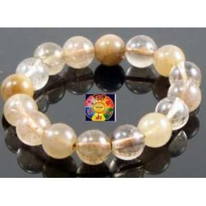 Crystal Prayer Beads Wrist Mala and a Copyrighted Tibetan