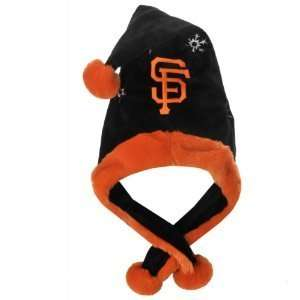 SF Giants MLB Official Team logo stadium Dangle Santa Hat