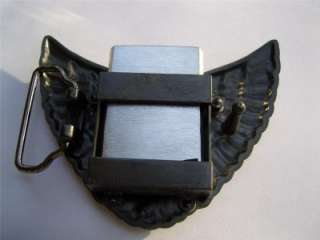 Famous Stars and Straps F WINGS LIGHTER Belt Buckle