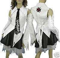 CS1, white lady Corset gothic shirt, lolita,size S xxxL