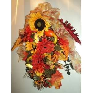 High End Quality Silk Flower Swag: Home & Kitchen