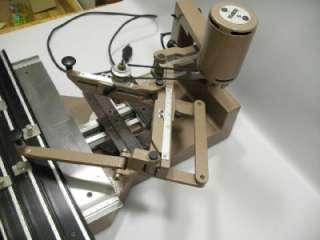 Scripta SM Engraving Machine Engraver Pantograph Motorized