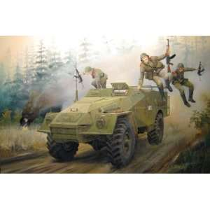 Russian BTR40 Armored Personnel Carrier (New Tool) Kit Toys & Games