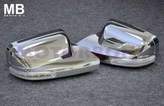 Mustang Polished Chrome Mirror Cover with LED Signal Light OEM Style