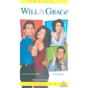& Grace [VHS]: Eric McCormack, Debra Messing, Megan Mullally, Sean