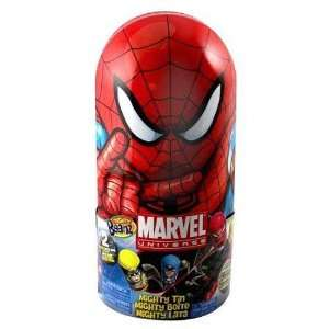 Spider Man Mighty Beanz Tin Toys & Games