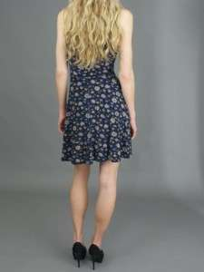 Criss Cross Dress in Black Floral Combo. SLeeveless Dress with Criss