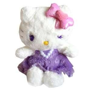 Sanrio Angel Hello Kitty Purple Plush Doll So Cute Toys & Games