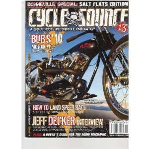 Cycle Source Magazine (How to land speed race, November