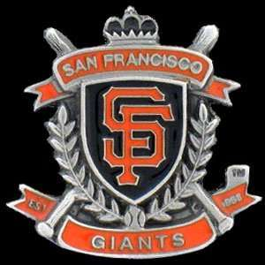 Team Crest MLB Pin   San Francisco Giants Sports