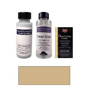 2 Oz. Dark Beige Metallic (Cladding) Paint Bottle Kit for